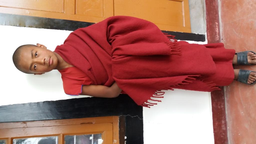 17 IN - Tenzin Norbu, seit 4 Jahren hier, 14 Jahre alt, Nepal